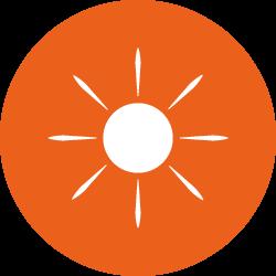 Calemard dans la protection solaire