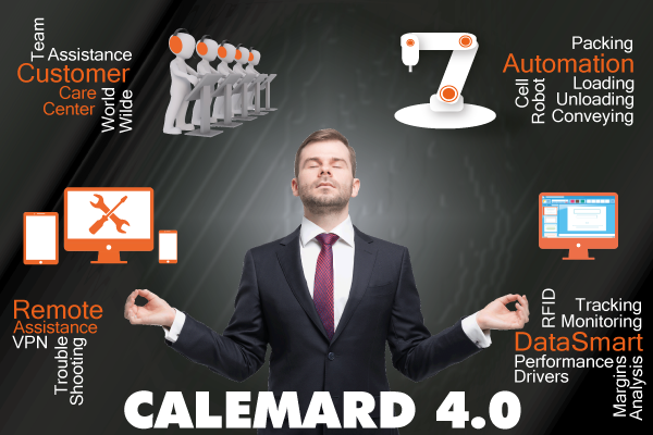 Calemard 4.0 to support your Smart Industry project